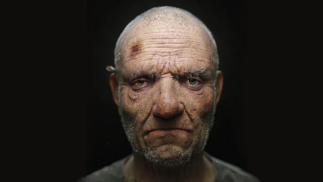 Super Realistic 3D Rendering of a Homeless