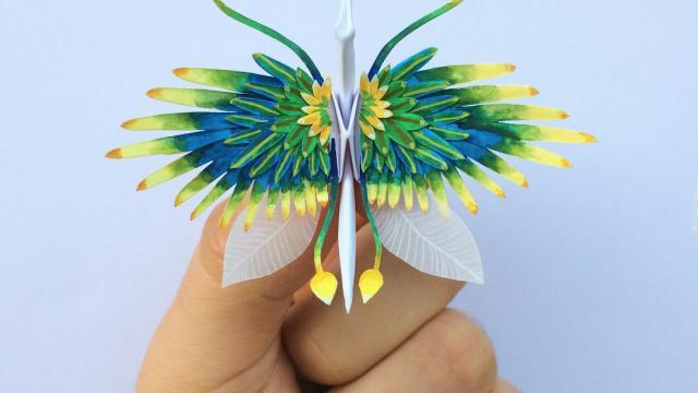 1000 Days of Origami Paper Cranes by Cristian Marianciuc
