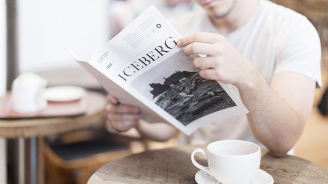 Editorial Design Inspiration: Iceberg Newspaper