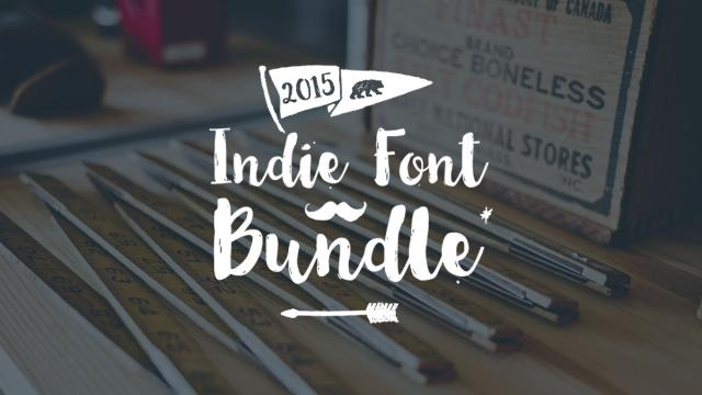 The Indie Font Bundle by Envato