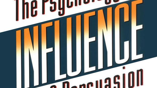 Influence: The Psychology of Persuasion - Book Suggestion
