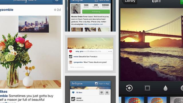 Close Look at Instagram's User Interface Design