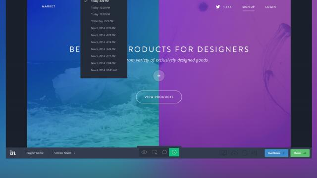 Beautiful UX Process by Invision App