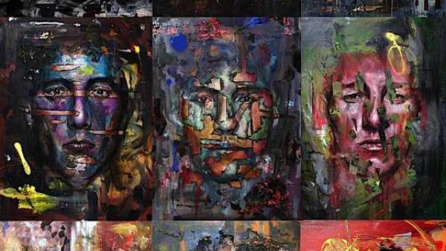 Oil & Acrylic Portrait Paintings