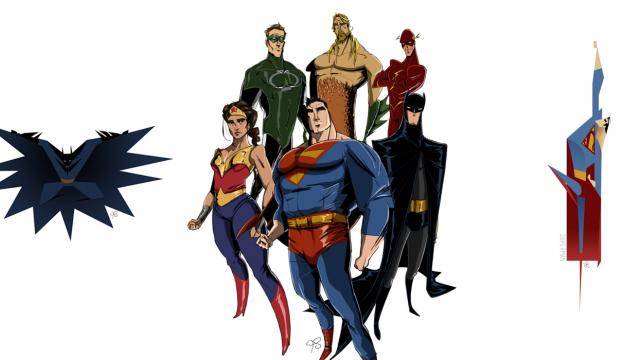 JLA Character Design by Franco Spagnolo