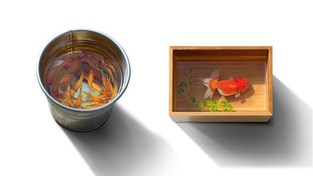Super Realistic 3D Paintings by Keng Lye