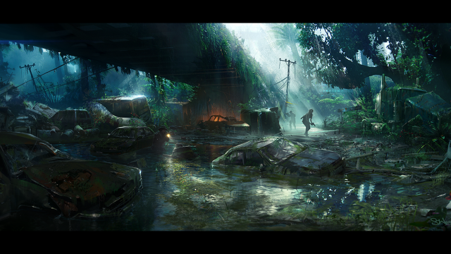 Great Concept Art Illustrations by Simon Weaner