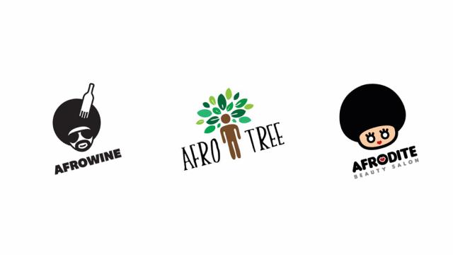 Logo Design: Afros