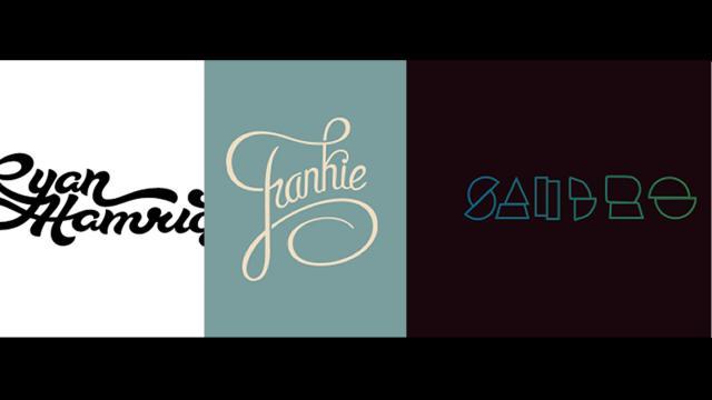 Logo Design: Personal Names