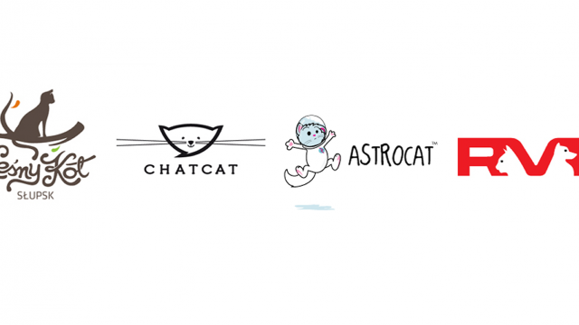 Logo Design: More Cats