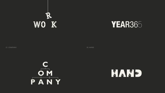25 Nouns Logo Collection