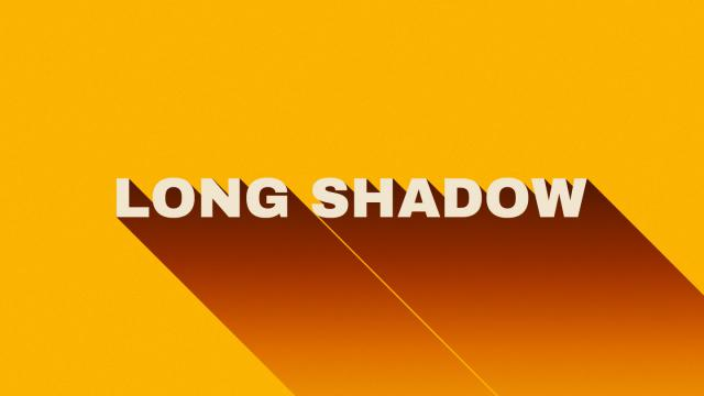 Long Shadow Design Trend