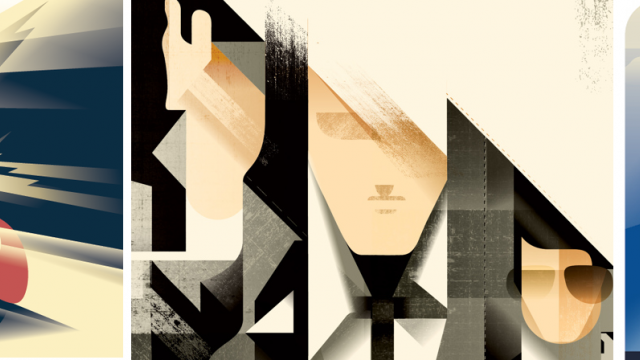 Art Deco Inspired Illustrations by Mads Berg