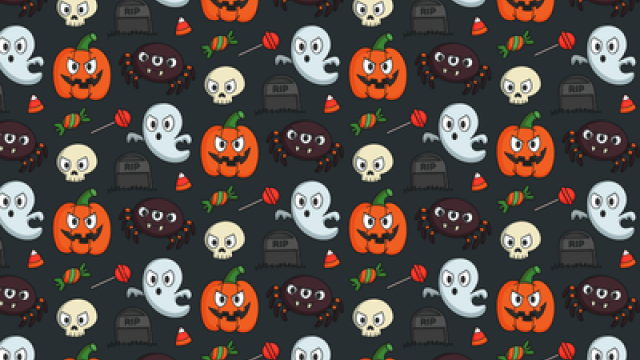 Mini Halloween Illustrations