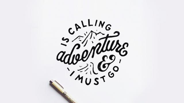 Hand-Lettering Works of Mark van Leeuwen