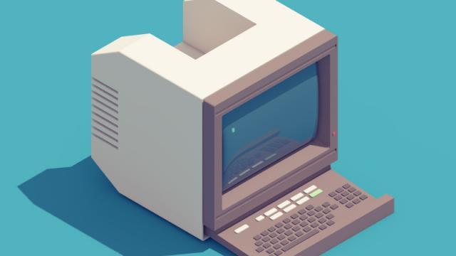 3D Animations of 90's Electronics