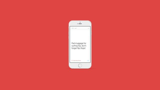 Mono App Design