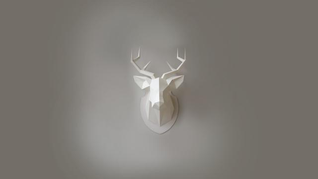 My dear deer - Paper craft