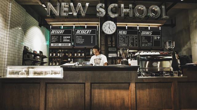 Interior Design Love: Chengdu, China's New School Coffee and Tattoo