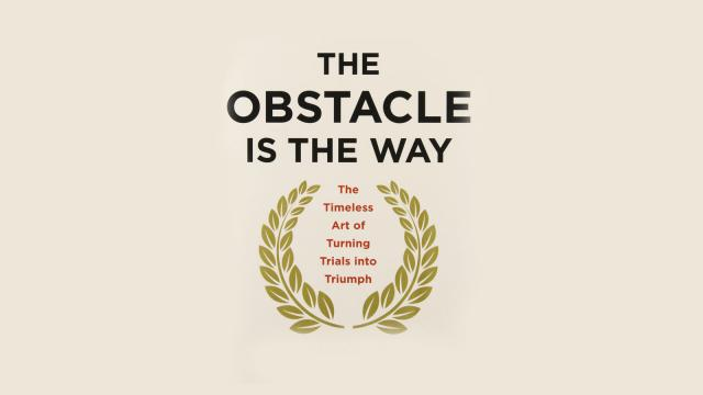 The Obstacle is the Way - Book Suggestion