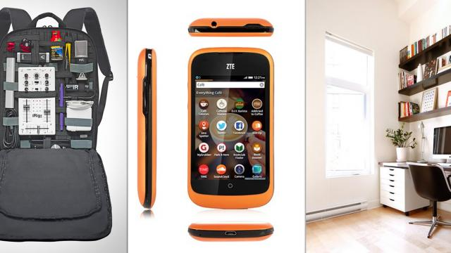 The Perfect Office - Cocoon Slim Backpack, Firefox OS ZTE , iBox XC and Office Ideas