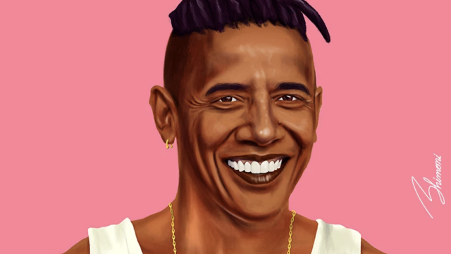 Illustration: Hipstory - World Leaders in Hipster Form