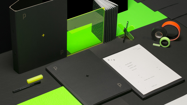 Visual Identity: Beautiful Branding for Studio P+P logo