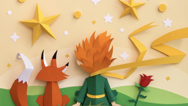 Beautiful Graphic Design Project Inspired by The Little Prince