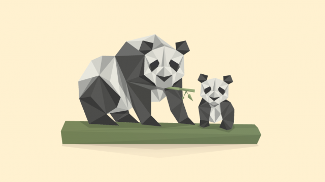 Poly Illustrated Animals by Matt Anderson