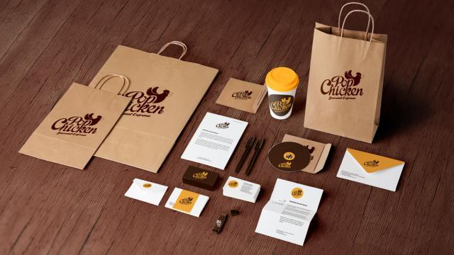 Visual Identity Process: The PopChicken Gourmet Express