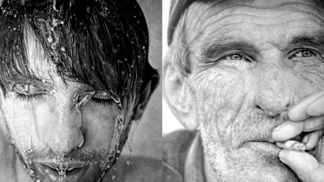Hyperrealist Illustrations by Paul Cadden