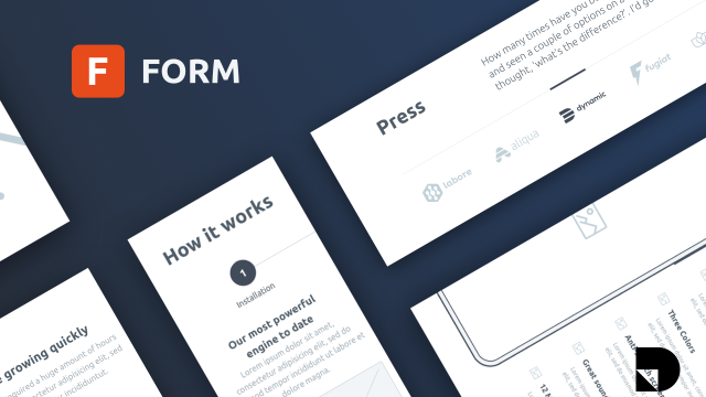 Introducing Form: a free wireframe kit from InVision