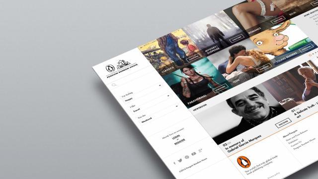 Penguin Random House - Concept Project