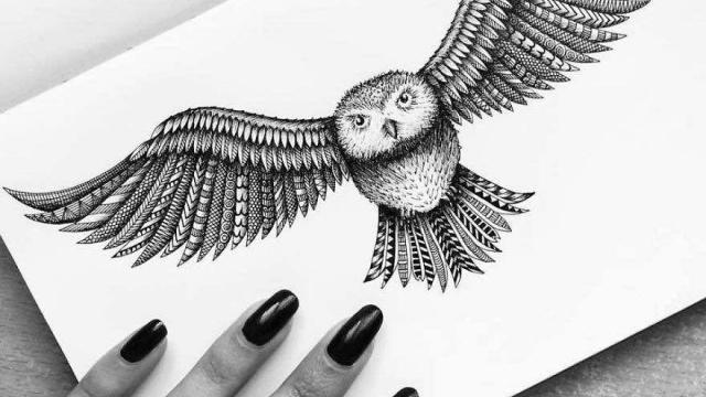 Amazing Pen & Paper Drawings by Pavneet Sembhi
