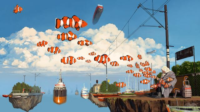More of Alex Andreyev's Surreal Illustrations