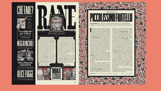 Editorial Design Inspiration: RANE Magazine