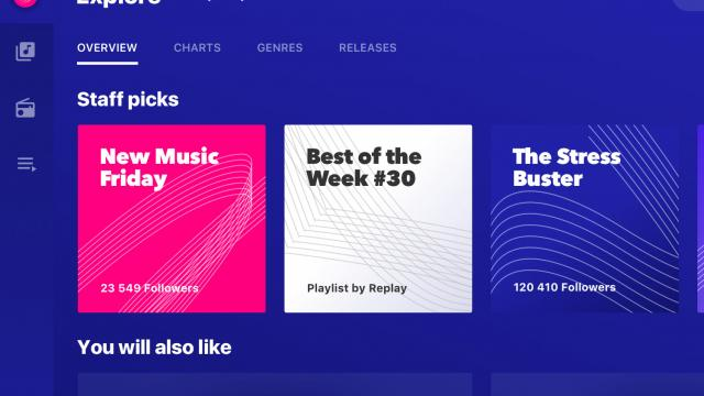 Product Design - Replay Music App UI/UX