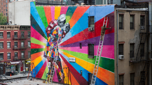 Colorful Murals by Eduardo Kobra