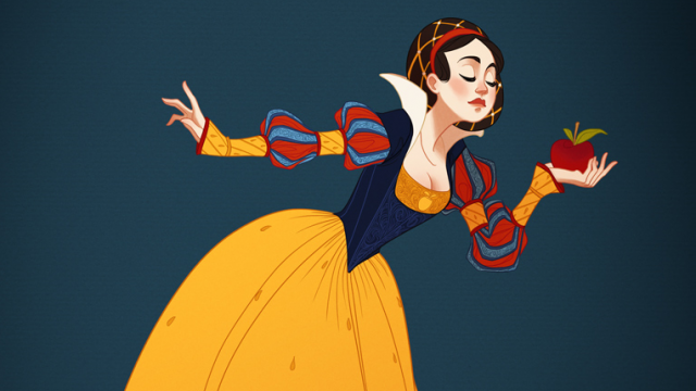 Historical Disney Princesses by Claire Hummel