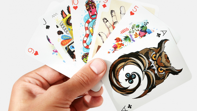 Illustrated Card Deck