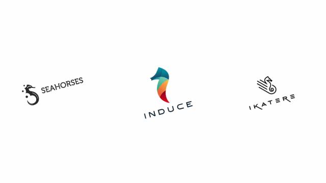 Logo Design: More Seahorses