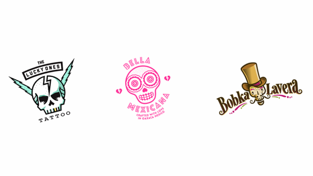 Logo Design: More Skulls