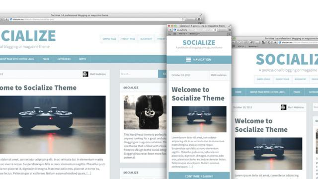 Case Study - Wordpress Theme Design