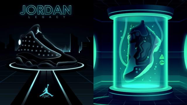 Awesome Sneaker Illustrations