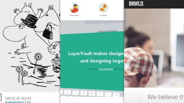 Sites of the Week: BKWLD, LayerVault, Welkome and more