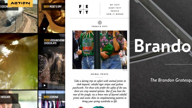 Sites of the Week: Feyt, Rego, Brandon Text and more