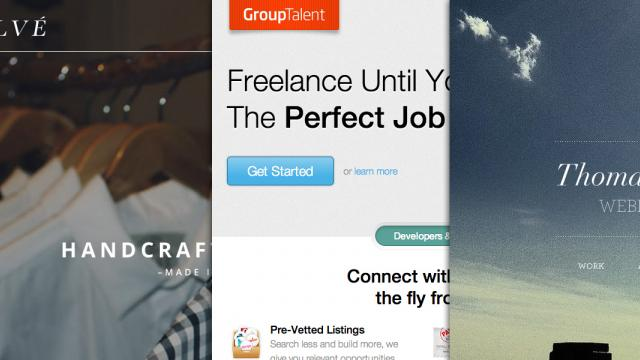Sites of the Week: GroupTalent, Falvé, WeLoveNoise and more