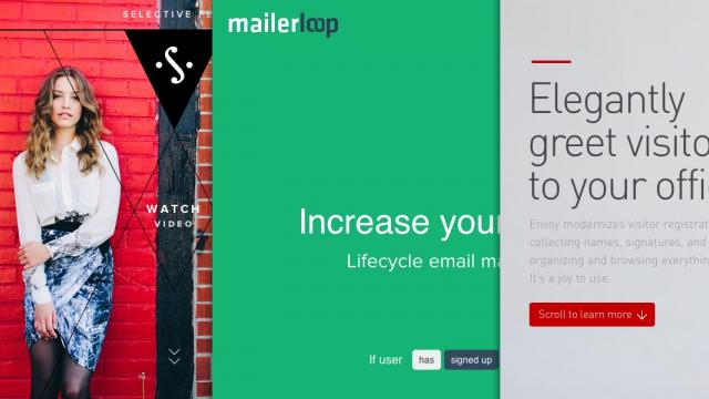 Sites of the Week: Envoy, Selective Few, MailerLoop and more
