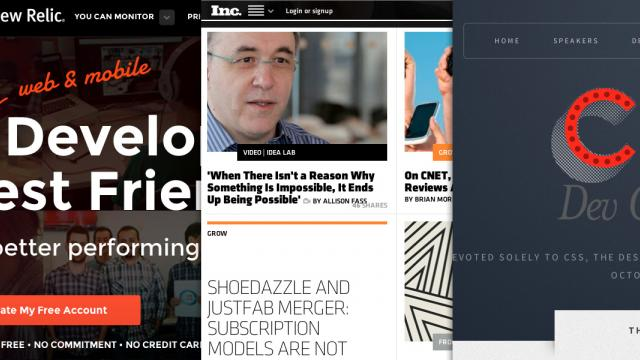 Sites of the Week: Inc., New Relic, NoRedInk and more