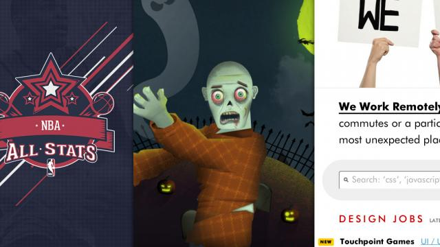 Sites of the Week: NBALLStats, Haunted Hills, Present Plus and more